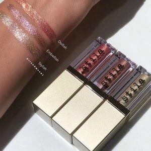 Stila iridescent Glitter & Glow Liquid Eyeshadows
